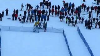 Sundsvalls Grabbarna andra åket i Julsmällen.