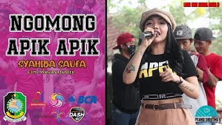 Download NGOMONG APIK APIK - SYAHIBA SAUFA | OFFICIAL LIVE ONE NADA DAM 3