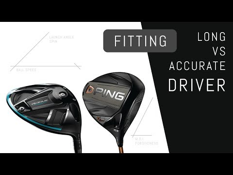 Longest Driver VS. Most Accurate Driver Fitting