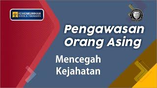 Pengukuhan Tim Pengawasan Orang Asing Kabupaten Sleman