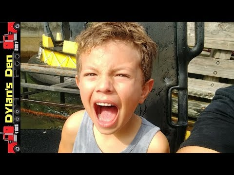 """1st Congo River Rapids 🌊 """"LIVE""""  Busch Gardens Tampa 🌊 Dylan gets WET - FUNNY!"""