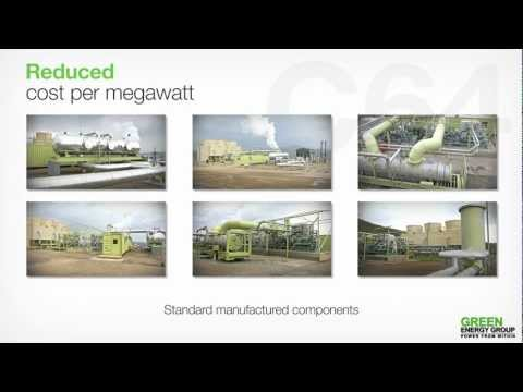 Green Energy Group - Geothermal Powerplant
