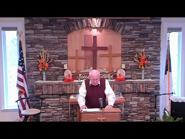 Sunday Service - Nov 24, 2019 - Giving Thanks To God
