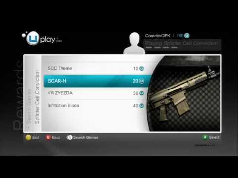 Splinter Cell: Conviction - Uplay Rewards Trailer [HD]