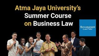 Atma Jaya University's Sum…