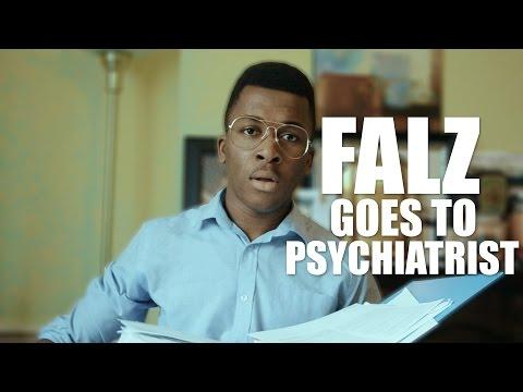 FALZ GOES TO PSYCHIATRIST.