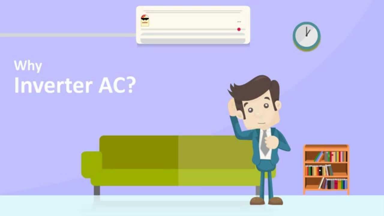 inverter technology ac power saving split ac inverter ac highest iseer rating ac [ 1280 x 720 Pixel ]