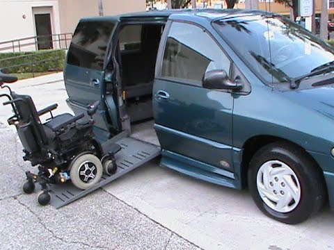 2000 Dodge Caravan Braun Wheelchair Accessible Van Youtube
