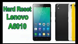 Hard reset Lenovo A6010