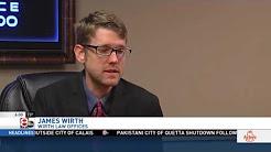 Tulsa personal injury attorney featured on KTUL-TV