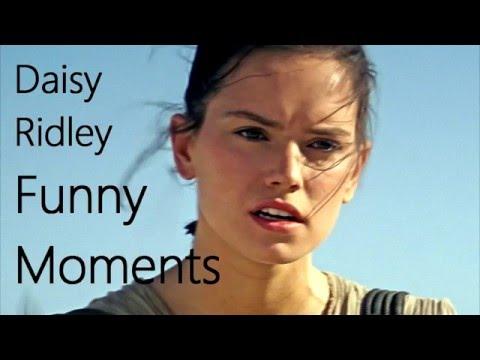 Daisy Ridley Funny Moments