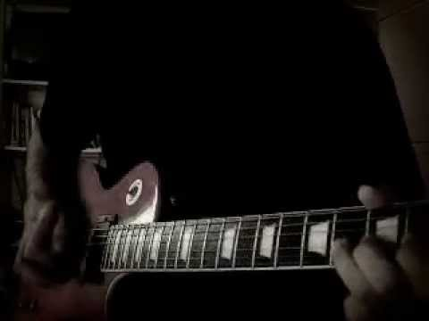 while my guitar gently weeps -jeff Healey (guitar cover) - YouTube