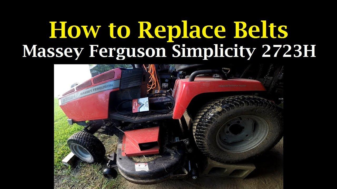 Simplicity 4211 Mower Belt