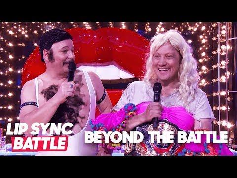 Jeff Ross & Rob Schneider Go Beyond the Battle | Lip Sync Battle