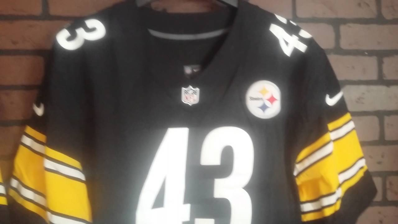 brand new b8453 cf3f5 2012 Pittsburgh Steelers Nike Home Retail Authentic Football Jersey flywire