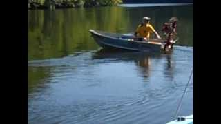 Running the Dragonfly outboard motor 1