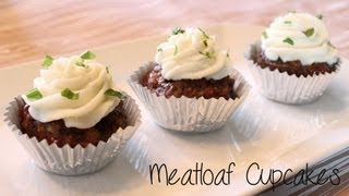How-to Make Meatloaf Cupcakes! (april Fools' Day)