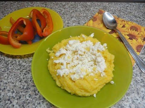 Мамалыга, кукурузная крупа, каша: калорийность, польза, вред
