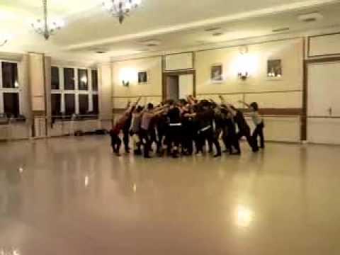 Group lift; jazz dance