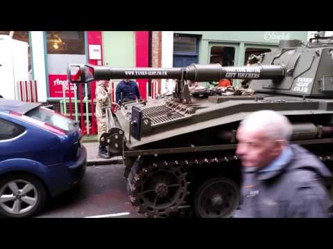Drive a tank in west london soho