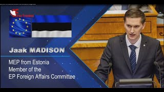 Jaak Madison MEP calls out Iran's human rights abuses in webinar on October  7, 2020 - YouTube