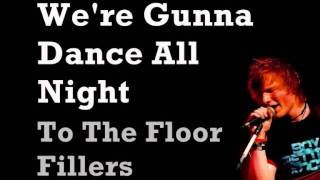 Ed Sheeran - One Night (Lyrics Video)