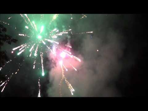 2012 Fireworks Finale Salem New Hampshire Arlington Pond