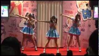 「オリジナルスター☆彡」 ゆな・れみ・えり from STAR☆ANIS 次世代ワールドホビーフェア'14Winter 東京大会 ちゃおブースステージ