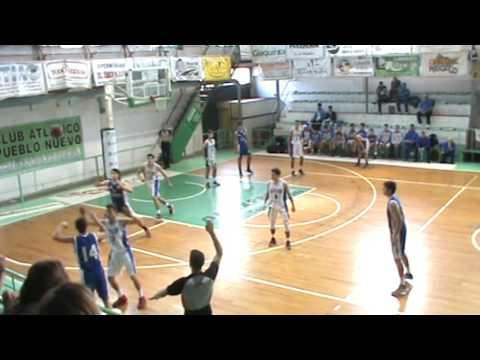 Provincial U17: Olavarria vs La Plata, primer tiempo