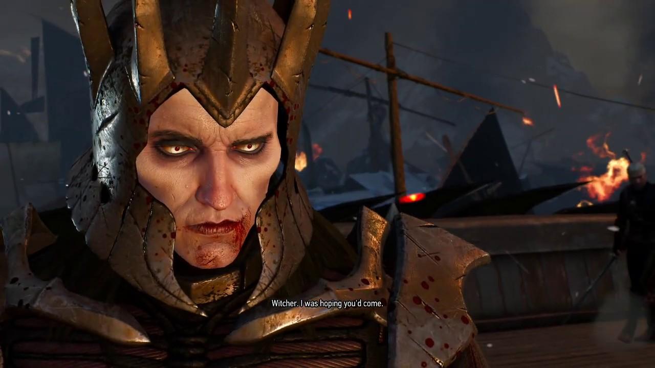 Geralt Of Rivia Versus Eredin Breacc Glas Youtube
