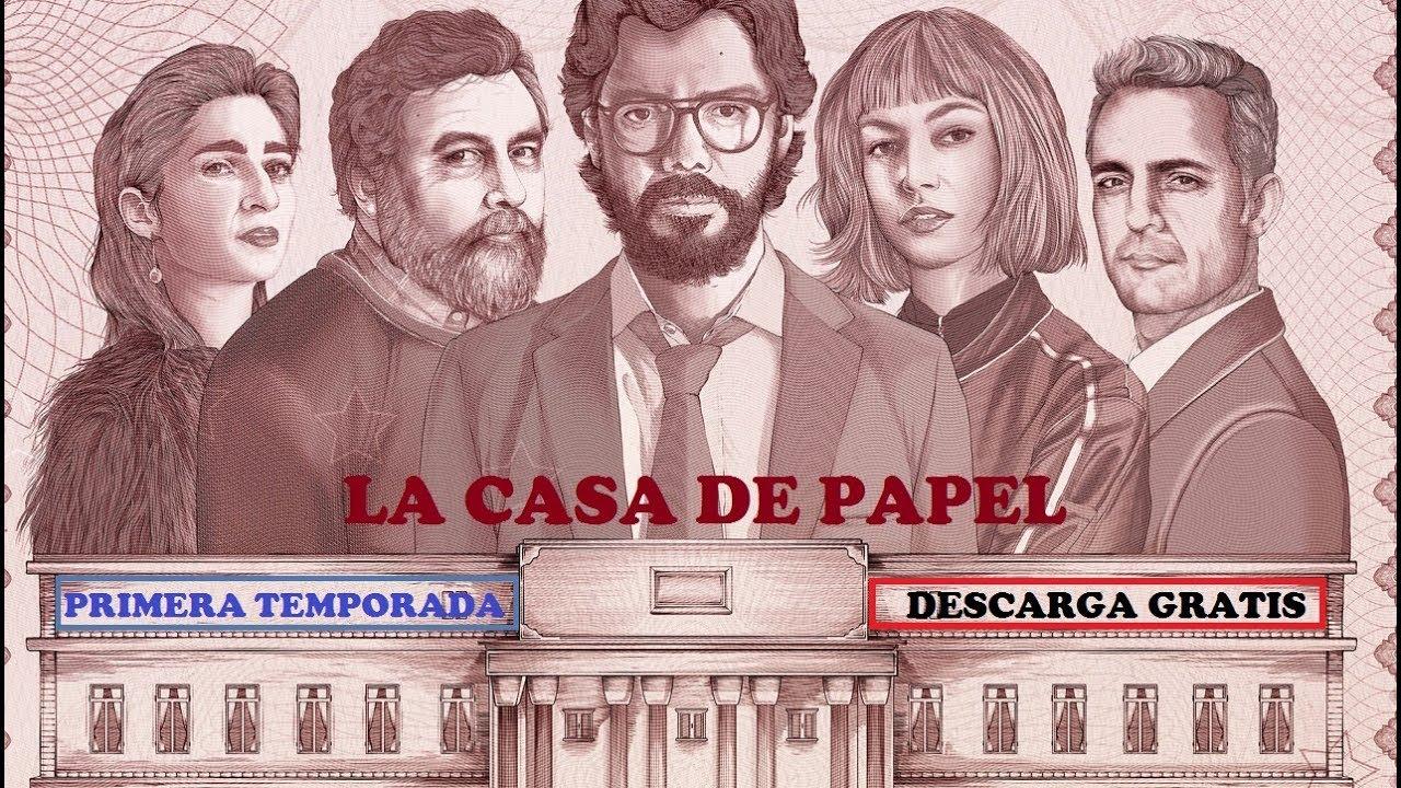 LA CASA DE PAPEL (Primera Temporada)