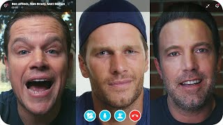 Matt Damon & Ben Affleck Fight Over Tom Brady's Friendship // Omaze by : Omaze