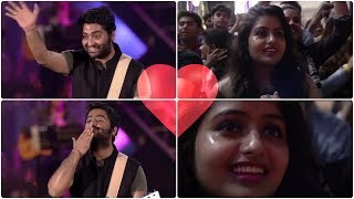 Arijit Singh adorable gesture for this Cute Crying Fan ❤️😭