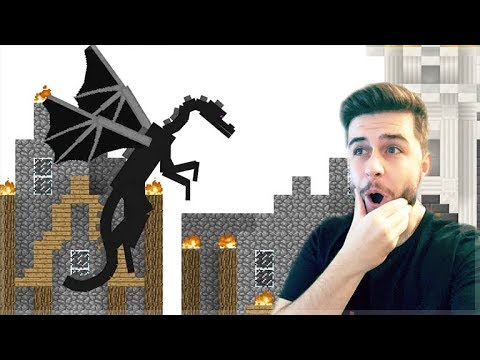 REACTING TO AMAZING ANIMATION Vs MINECRAFT - ENDERDRAGON Vs STICKMEN Minecraft Animations