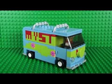 Lego Mystery Machine MOC (My Own Creation) - YouTube