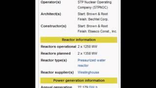 south texas nuclear power plant nrc enr 01092013