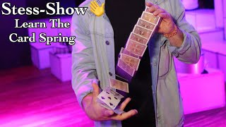Learn The Card Spring / Stess-Show Vol3 / Easy activity to learn at home!
