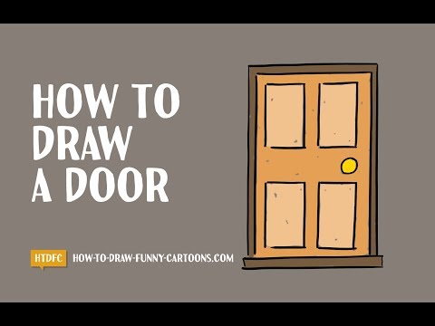 How To Draw A Door