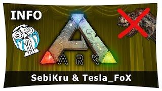 ARK: Survival Evolved ★ Aus und vorbei? ★ SebiKru & Tesla_FoX