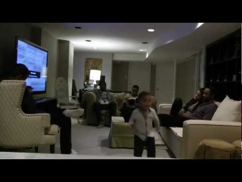 Two Year Old Does Harlem Shake