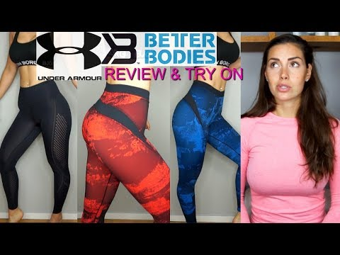 Better Bodies & Under Armor Review & Try On