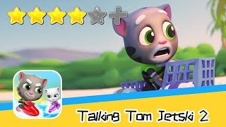 Talking Tom Jetski 2 - HARD RACE Day3 Walkthrough New Game Plus Recommend index four stars