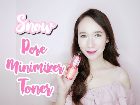 Snow Pore Minimizer Toner Review Nicole Faller Youtube