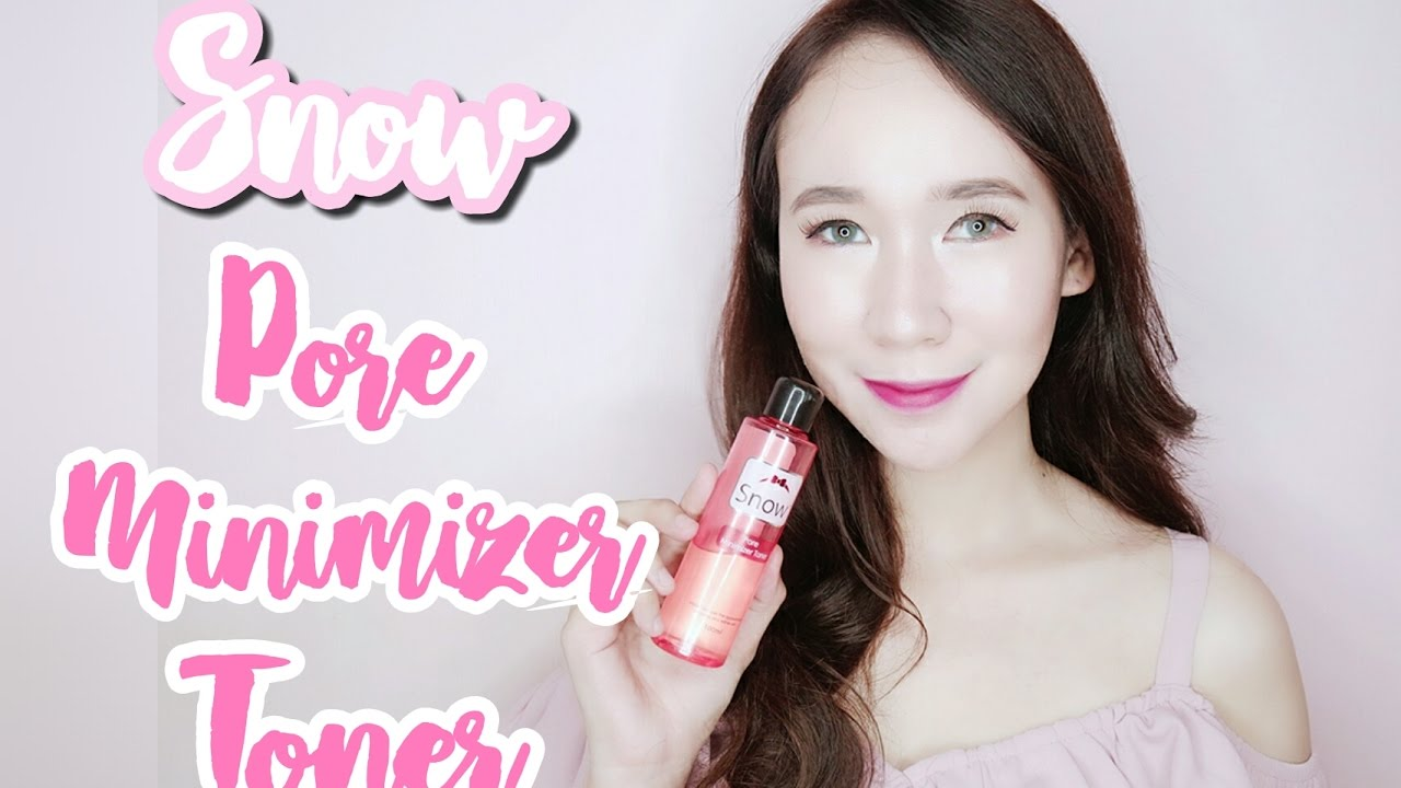 Snow Pore Minimizer Toner Review Nicole Faller Youtube