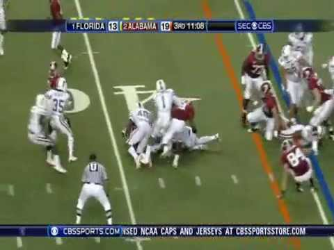 Universal Draft Presents LB Brandon Spikes of Florida - Part 1 of 2