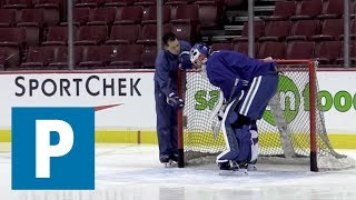 Canucks goalie Mazanec working on the details | The Province