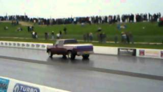 Tiny truck does 12.76 1/4mile