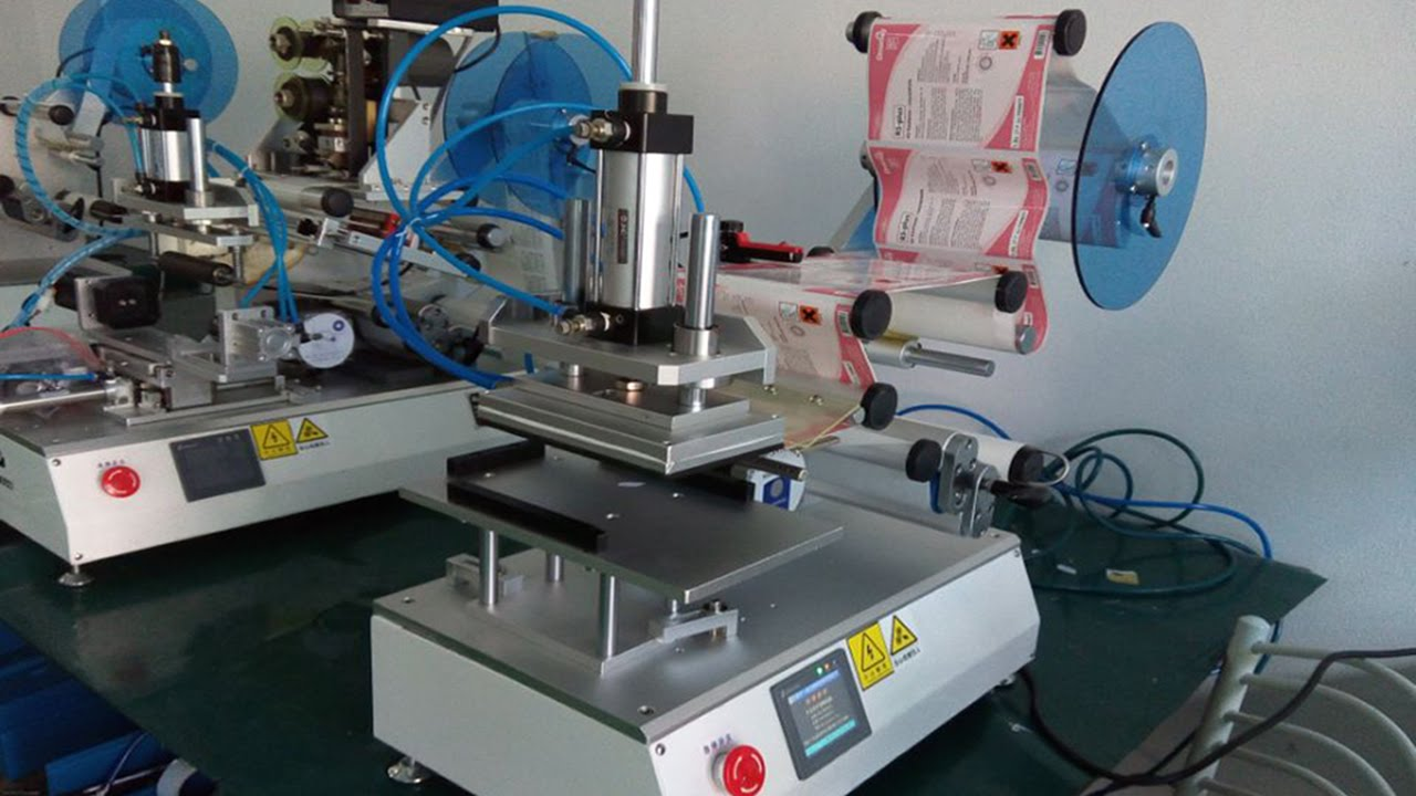 Plane Surface Semi Automatic Labeling Machine Manual