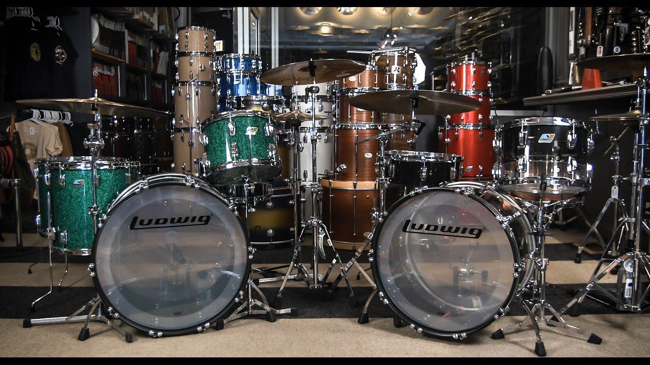 Ludwig Vista Lite Drums : ludwig limited edition 45th anniversary vistalite kits drum demo youtube ~ Hamham.info Haus und Dekorationen