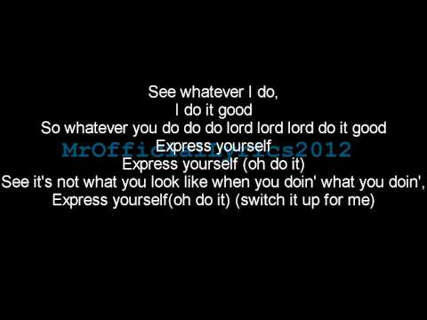 Labrinth - Express Yourself (Lyrics) *HQ AUDIO*